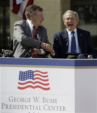 George H.W. Bush, George W. Bush