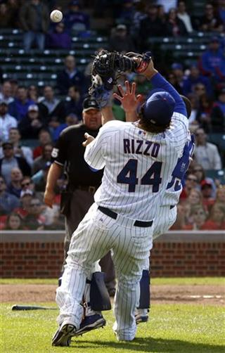 Anthony Rizzo,Welington Castillo 