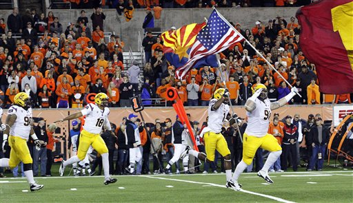 Arizona St Oregon St Football