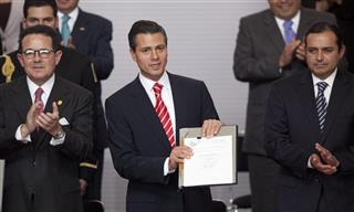 Francisco Arroyo Vieira, Enrique Pena Nieto, Ernesto Cordero