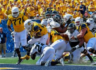 APTOPIX Missouri West Virginia Football