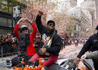 World Series Giants Parade Baseball