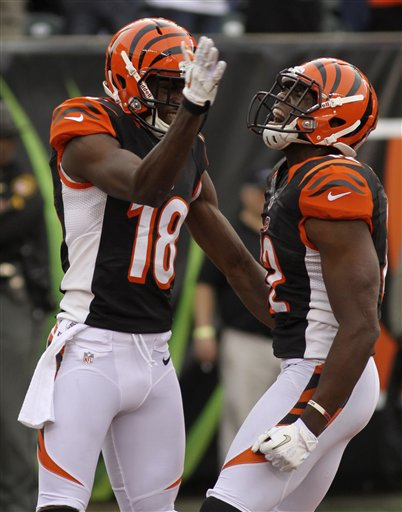 Mohamed Sanu, A.J. Green