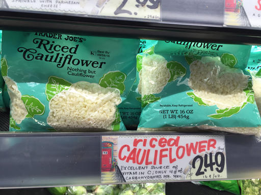 Is 'cauliflower rice' going mainstream? Green Giant hopes so