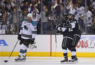 Slava Voynov, Justin Williams, Joe Thornson