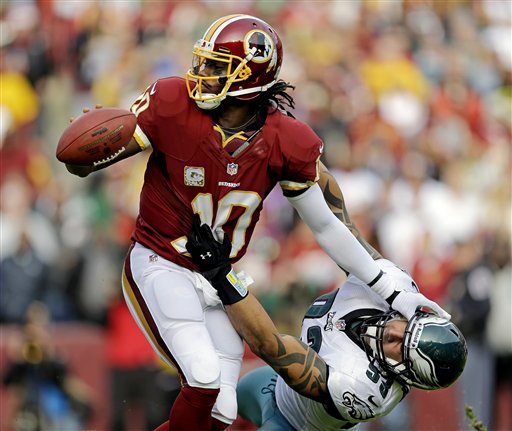 Robert Griffin III, Jason Babin