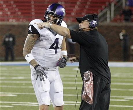 Gary Patterson,Casey Pachall