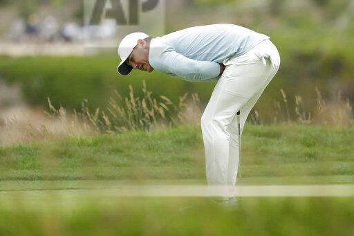 APTOPIX US Open Golf