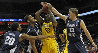 NCAA BYU Marquette Basketball