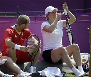 Olivier Rochus, Kim Clijsters