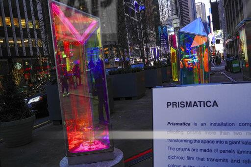 Prismatica art installation - 1/12/21