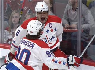 Alexander Ovechkin, Marcus Johansson,