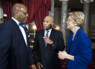 William Cowen, Deval Patrick, Elizabeth Warren