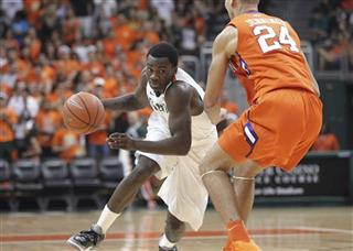 Clemson Miami Basketball