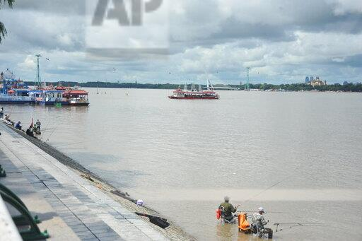 CHINA CHINESE HEILONGJIANG HARBIN SONGHUA RIVER WATER LEVEL RAIN