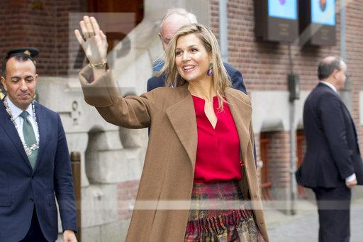 Her Majesty Queen Maxima will opens the fifth IGNITE conference, Amsterdam. Netherlands 07 dec 2017