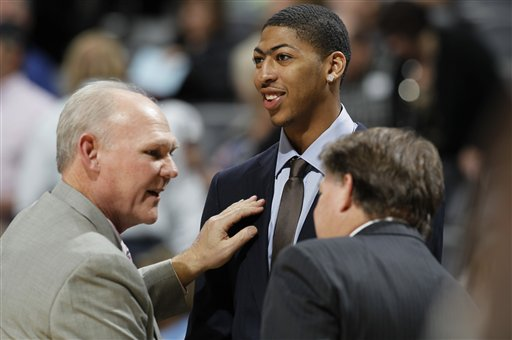 George Karl, Anthony Davis