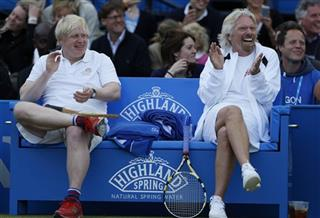 Boris Johnson, Richard Branson