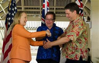 Hillary Rodham Clinton, Murray McCully, Richard Marles