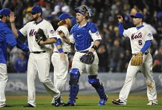 Bobby Parnell, Justin Turner, John Buck, David Wright