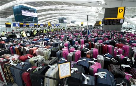 Britain Olympic Luggage