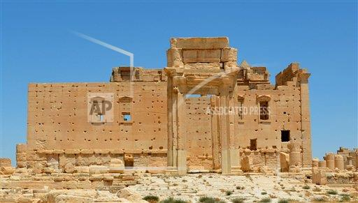 Temple of Bel feared to be destroyed