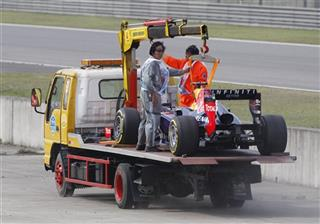 China F1 GP Auto Racing