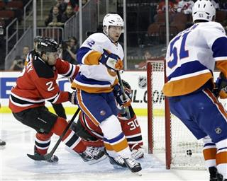 Josh Bailey, Martin Brodeur, Marek Zidlicky