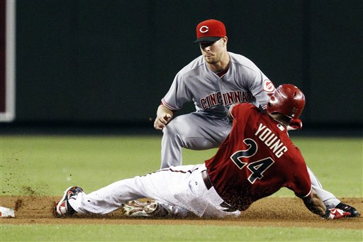 Zack Cozart, Chris Young