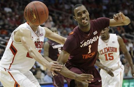 ACC Virginia Tech Clemson Basketball