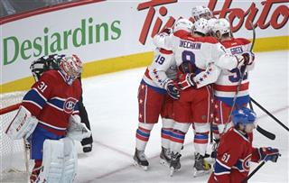 Nicklas Backstrom, Carey Price, Alexander Ovechkin, Mike Green,