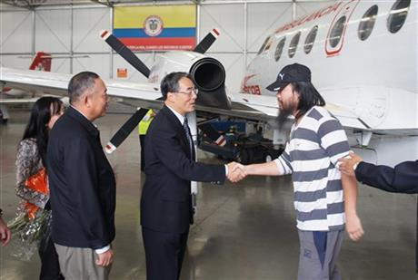 Colombia Rebels Chinese Freed