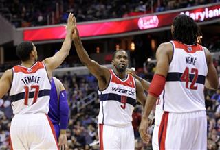 Martell Webster, Nene, Garrett Temple