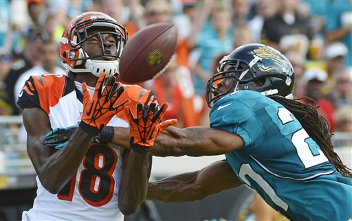 A.J. Green,  Rashean Mathis