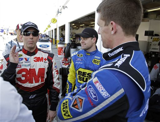 Greg Biffle, Ricky Stenhouse Jr., Carl Edwards