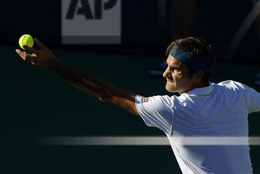 APTOPIX Indian Wells Tennis