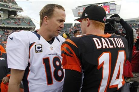 Peyton Manning, Andy Dalton
