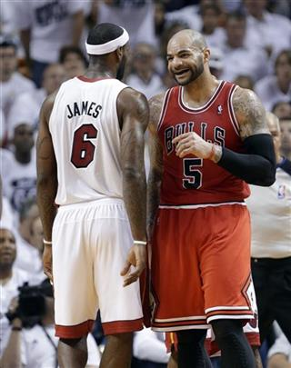 LeBron James, Carlos Boozer