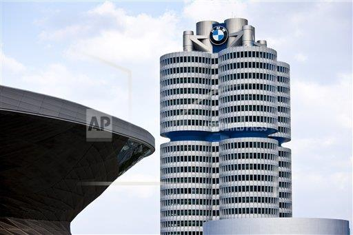 Creative Robert Harding Productions /AP Images A  Bavaria Germany 1161-5754 Modern architecture at the BMW Headquarters office blocks, showroom, museum and customer collection centre in Munich, Bavaria, G