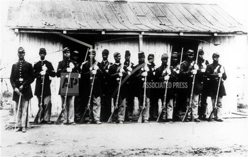Exchange Black Civil War Soldiers