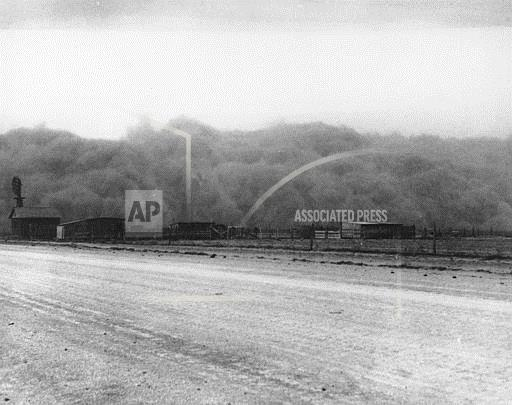 Associated Press Domestic News Oklahoma United States DUST BOWL
