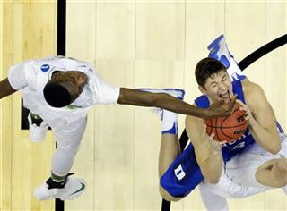 NCAA Duke Oregon Basketball
