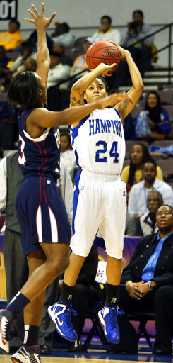 MEAC Howard Hampton Basketball