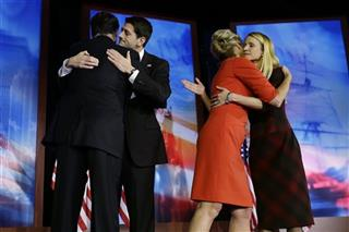 Mitt Romney, Paul Ryan, Janna Ryan, Ann Romney