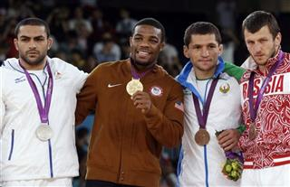 Sadegh Saeed Goudarzi, Jordan Ernest Burroughs, Soslan Tigiev, Denis Tsargush