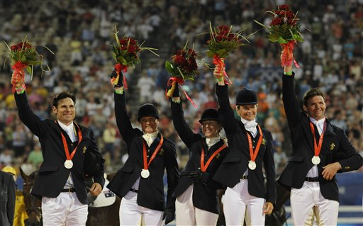 London Olympics Equestrian Australian Withdraws