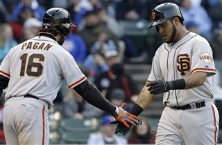 Hector Sanchez, Angel Pagan