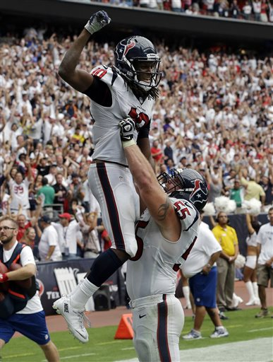DeAndre Hopkins, Chris Myers