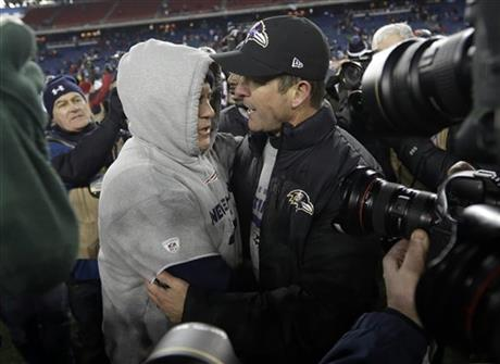 Bill Belichick, John Harbaugh