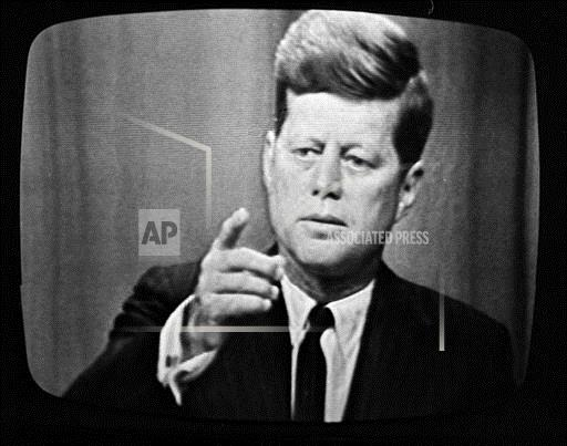 Watchf Associated Press Domestic News  New York United States APHS54443 JFK FIRST LIVE NEWS TELECAST 1961